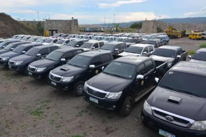 CEBU. Vehicles issued by the Cebu City Government. (SunStar File)