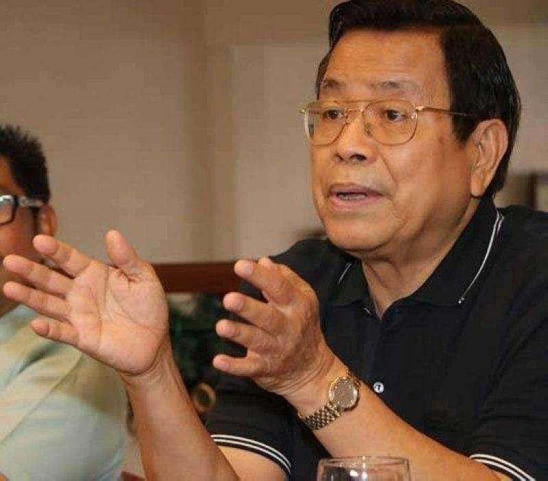 PAMPANGA. Former mayor and Third District Rep. Oscar Rodriguez. (Chris Navarro)