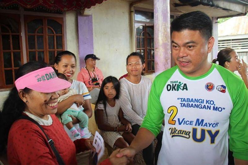 CAGAYAN de Oro City Vice Mayor Raineir Joaquin Uy. (Photo from Uy's Facebook page)
