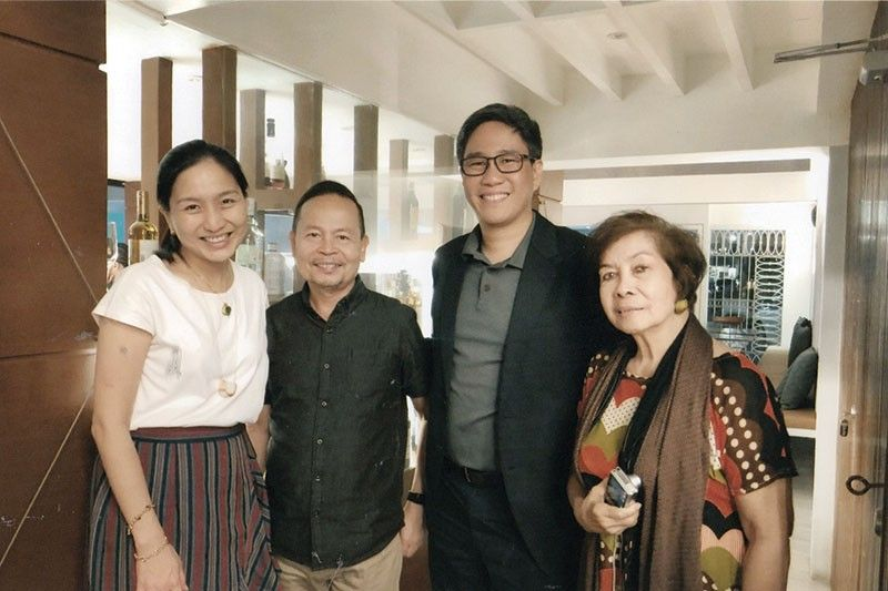 Cebu Pacific vice president for marketing and distribution Candice Iyog, Archie Modequillo, Cebgo president and chief executive officer Xander Lao and Chinggay Utzurrum.