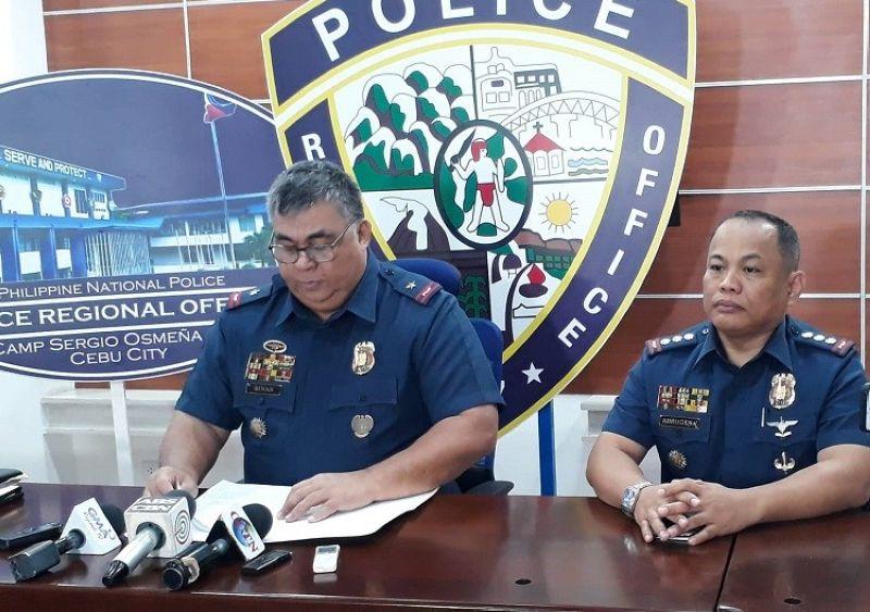 SUGBO. Sigon ni Police Regional Office-Central Visayas Director Debold Sinas aduna'y nahitabong misencounter tali sa kapulisan sa probinsya tali ni Yballe. (Hulagway kuha ni Arnold Y. Bustamante)