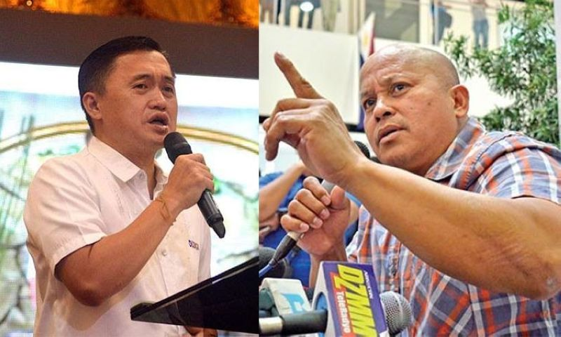 "MANILA. Former special assistant to the president Christopher Lawrence ""Bong"" Go (left) and retired police director general Ronald ""Bato"" dela Rosa. (SunStar File)"