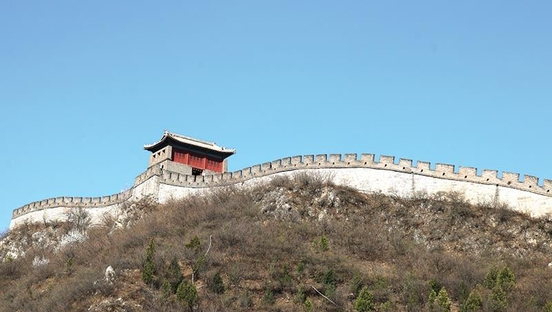 CHINA. The East Mountain Archery Tower. (Ace June Rell S. Perez)