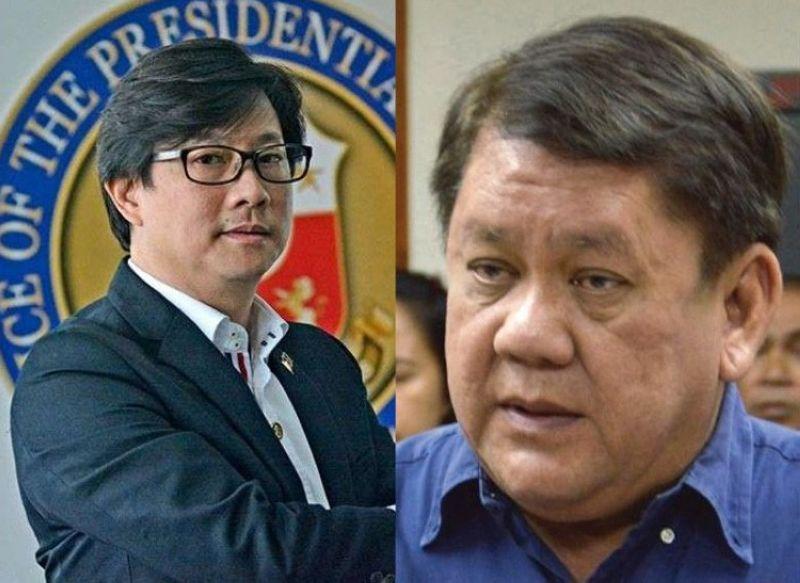 CEBU. Gihulagway ni Presidential Assistant for the Visayas Michael Dino (wala) si Cebu City Mayor Tomas Osmeña (sobra) nga