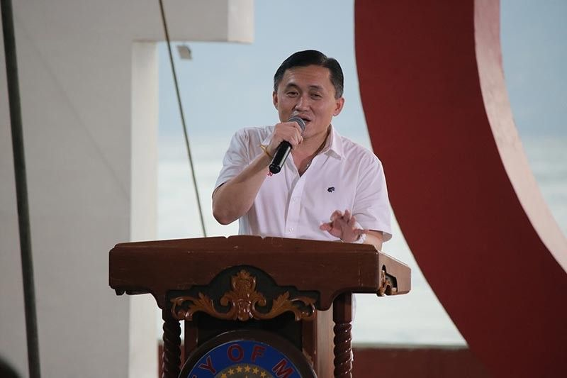 DAVAO. Former special assistant to the president and senatorial candidate Christopher