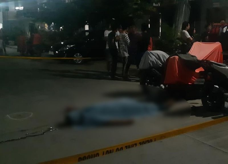 CEBU. Police have yet to determine who were behind the murder of Police Master Sergeant Joseph Villamor. Villamor, who is assigned at the PNP Maritime Group, was gunned down by two assailants onboard a motorcycle in front of his house in Barangay Babag, Lapu-Lapu City on Friday night, May 4. (SunStar photo/ Flor V. Querubin)