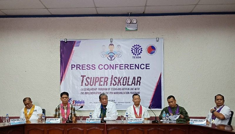 DAVAO. The Tsuper Iskolar Program will offer free skills training courses to Public Utility Vehicle (PUV) operators and drivers affected by the PUV Modernization Program (PUVMP) in Davao City. (Photo by Lyka Casamayor)