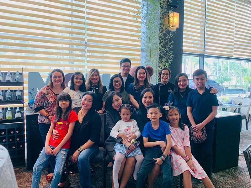 DAVAO. Seda Moms and Media Moms with their kids. (Contributed photo)