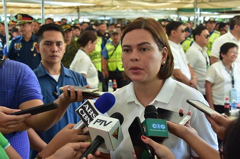 DAVAO. Davao City Mayor Sara Duterte-Carpio. (Photo by Macky Lim)