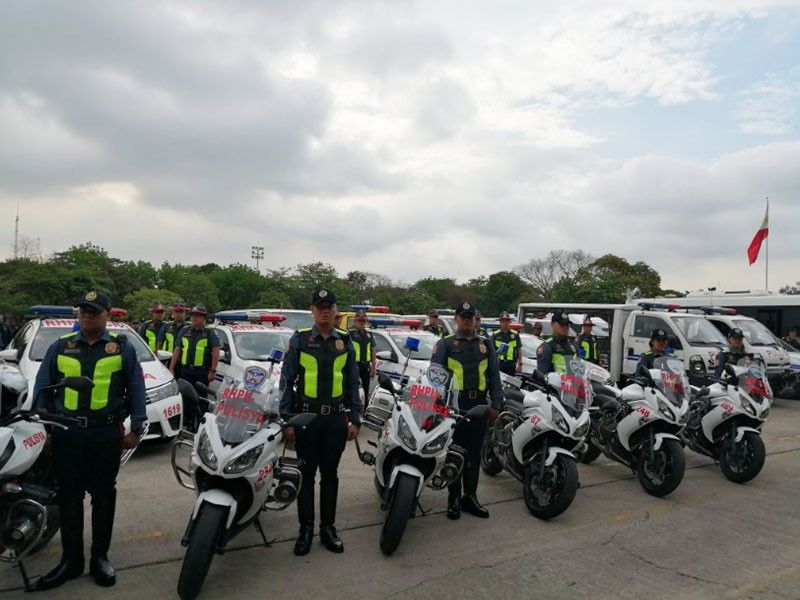 MANILA. Police hold a send-off ceremony for some 143,000 men who will be deployed before, during and after the May 13, 2019 elections. (Photo by Third Anne Peralta-Malonzo/SunStar Philippines)