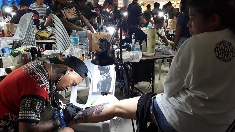 CAGAYAN DE ORO. Tattoo artists from Mindanao and Cebu showed off their skills at the Ink Blast Summer Tattoo Competition on Sunday, May 5, at the event center of Limektkai Mall, Cagayan de Oro. (Jo Ann Sablad)