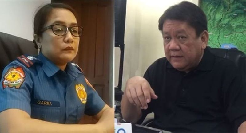 CEBU. True to his word, Cebu City Mayor Tomas Osmeña (right) has lodged a complaint against Cebu City Police Office (CCPO) director Royina Garma (left) before the anti-graft office for alleged irregularities during the conduct of police operations and for the deaths of several individuals. (SunStar file photo)