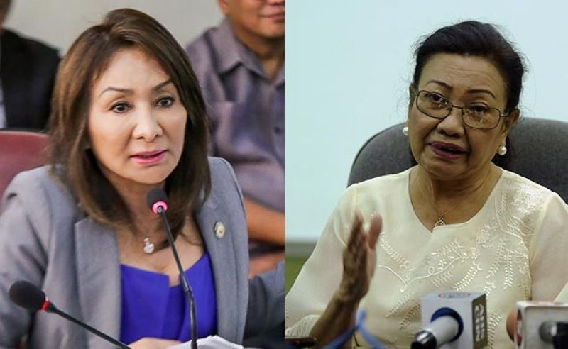 Rep. Gwen Garcia and Vice Gov. Agnes Magpale