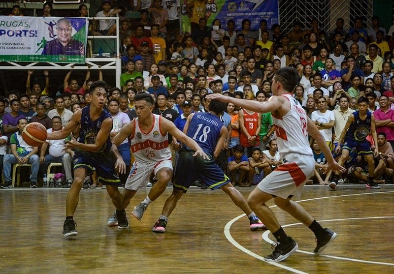 CROWD SUPPORT. After losing the lead in the fourth quarter in Game 1, Mandaue City is banking on crowd support to help it sustain the momentum against Talisay. (SunStar photo / Arni Aclao)
