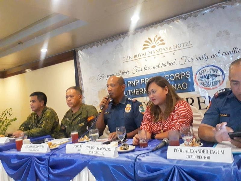 DAVAO. Police Regional Office deputy regional director for operations (DRDO) Police Colonel Eden Ugale. (Juliet C. Revita)