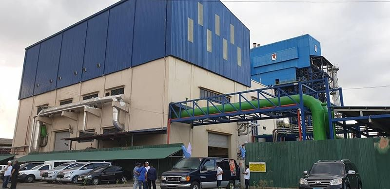 VICTORIAS CITY. The newly-inaugurated P2-billion 40 MW biomass power plant of Victorias Milling Company in Victorias City. (Contributed photo)