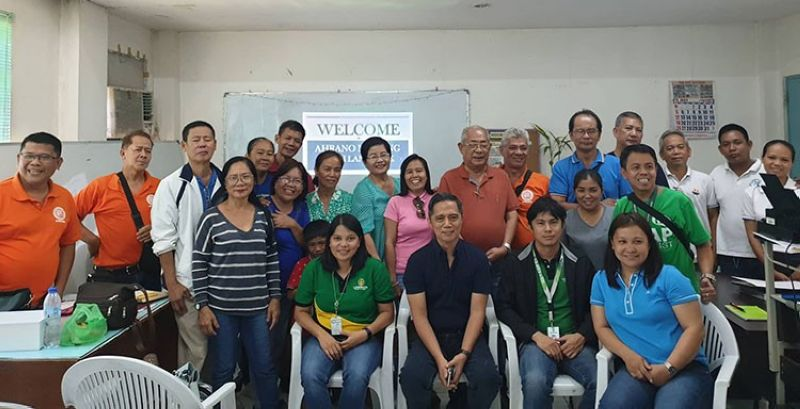 BACOLOD. Provincial Veterinary Office personnel headed by Provincial Veterinarian Renante Decena (seated, second from left) with LBP-Bacolod personnel and members of Alliance Hog Raisers Association of Negros Occidental during their monthly meeting at Koica Training Center in Bacolod City on May 7, 2019. (Contributed photo)