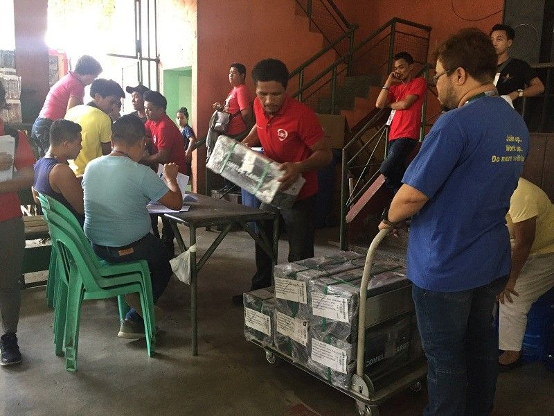 BACOLOD. Bacolod City Treasurer' Office receive the official ballots for the May 13 elections. (Merlinda Pedrosa)