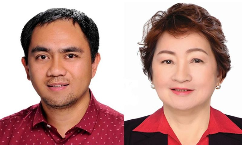 BAGUIO. Vice Governor Florence Tingbaoen and Board Member Johnny Waguis. (Contributed photos)