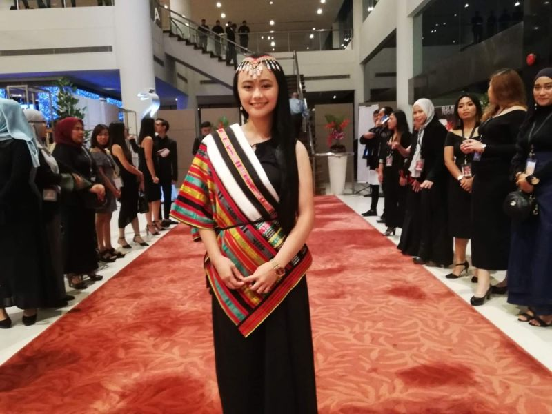 CORDILLERA. Igorot actress Mai Fanglayan who plays the role of a Cordilleran woman in Tanabata's Wife is nominated in the best actress category of the 42nd Gawad Urian Awards. (Contributed photo)