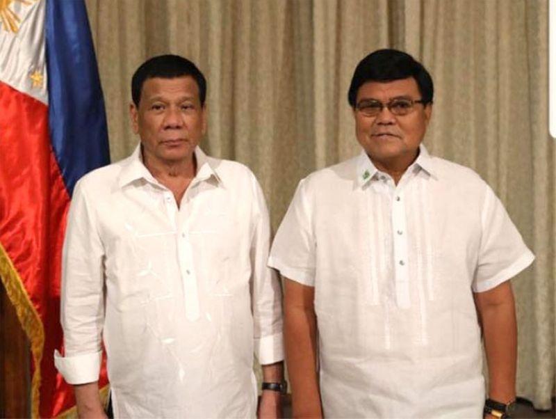 MANILA. Cebu City Vice Mayor Edgardo Labella meets President Rodrigo Duterte in Malacañang Monday, May 6, 2019. Duterte endorsed Labella's candidacy for Cebu City mayor. (Photo from Labella's Facebook page)