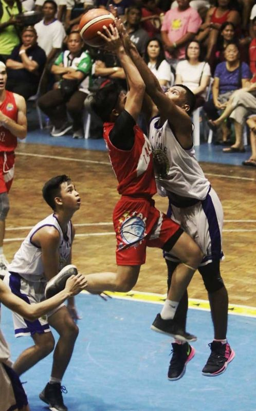 NOT TODAY. Mandaue City toughened up its act in the third quarter to foil Talisay City's dream of back-to-back titles in the Governor's Cup. (SunStar Photo/Alex Badayos)