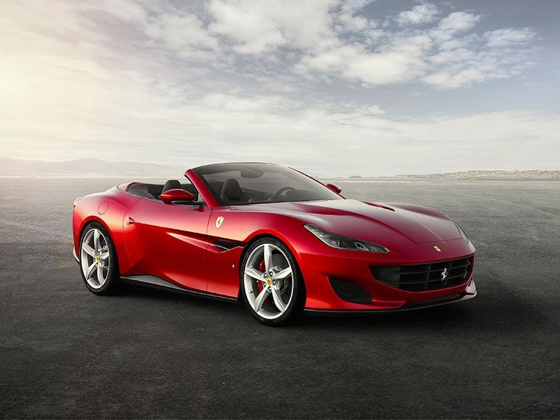 STYLISH. The Ferrari Portofino converts from an authentic Berlinetta into an open-top Spider in 14 seconds adding to its sleekness made to enjoy on every occassion.