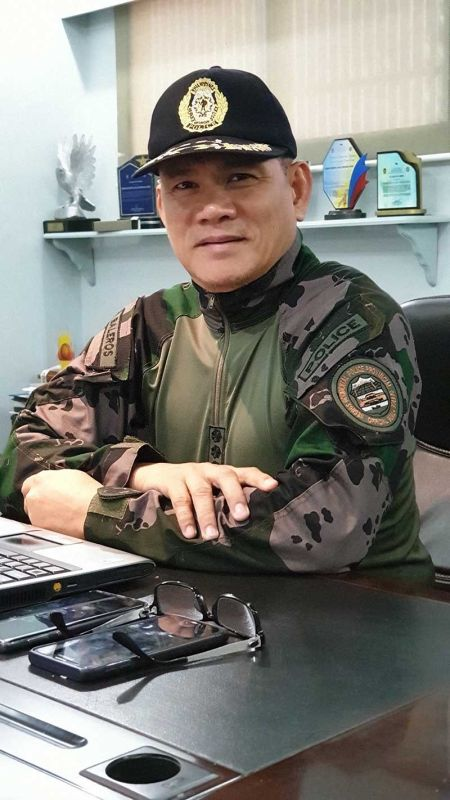 NEGROS. Police Senior Superintendent Romeo Alerta Baleros, director of the Negros Occidental Police Provincial Office. (Contributed photo)