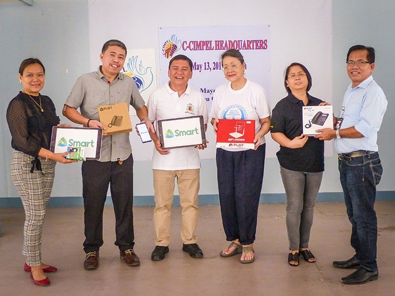 CEBU. Leading telecoms and digital services provider PLDT and its wireless subsidiary Smart Communications have extended support to various groups to ensure the success of the 2019 national and local elections. (Contributed photo)