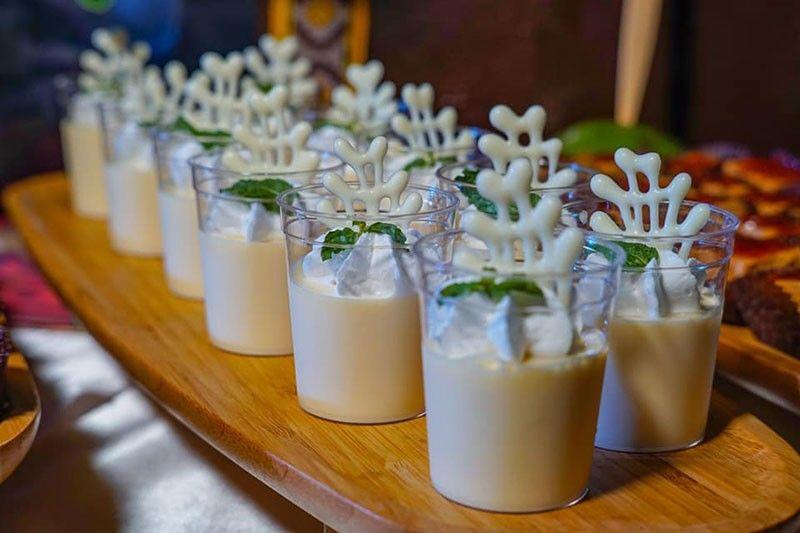 DAVAO. Durian dessert by Seda Abreeza Hotel. (Ace June Rell S. Perez)