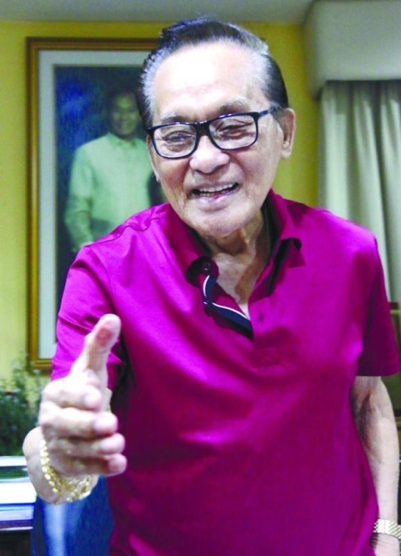 "CEBU. Incumbent Talisay City Mayor Eduardo ""Eddiegul"" Gullas Sr. (SunStar file)"