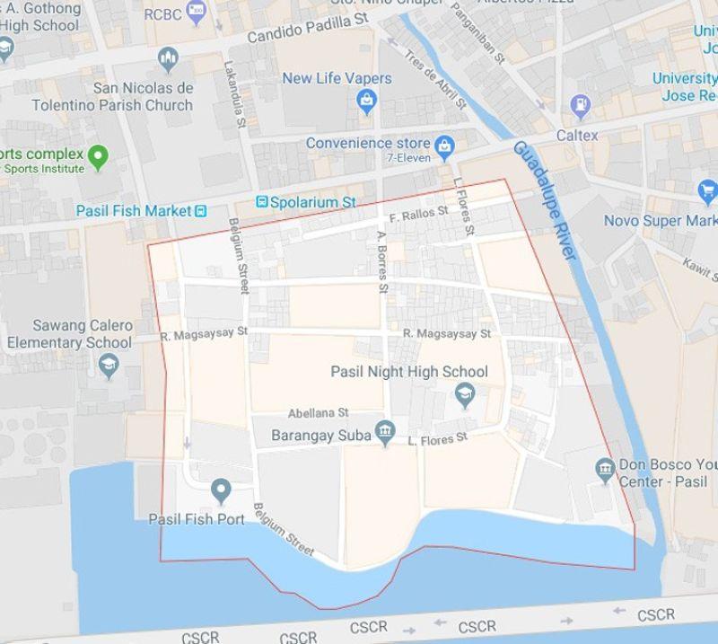 (Hulagway gikan sa Google Maps)