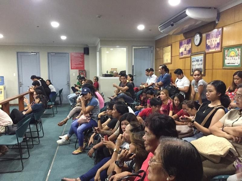 BACOLOD. Grupo Progreso supporters await for the proclamation of the winning candidates last night, May 14, 2019 at the canvassing center at Sangguniang Panlungsod in Bacolod City. (Merlinda Pedrosa)
