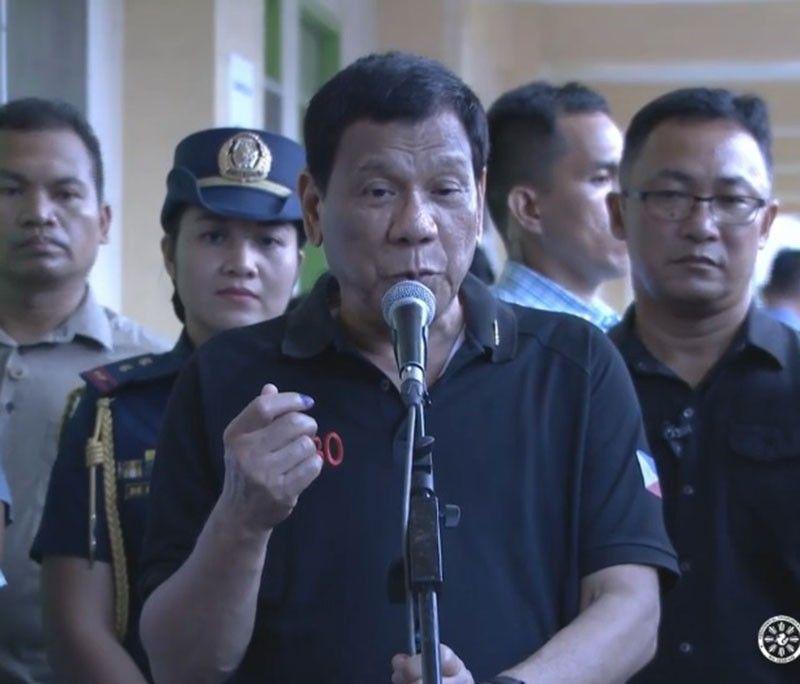 MANILA. President Rodrigo Duterte's