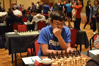 CAGAYAN DE ORO. GM Darwin Laylo, the first among the top guns who signified his participation in the biggest chess event to unfold this year in Cagayan de Oro. (Contributed Photo)