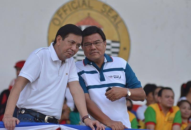 INCOMING LEADERS. Former Cebu City Mayor Michael Rama (left) and Vice Mayor Edgardo Labella are the incoming vice mayor and mayor, respectively, of Cebu City. Cebu's business groups say they are looking forward to working with the new leaders to ensure Cebu stays competitive. (SunStar file)
