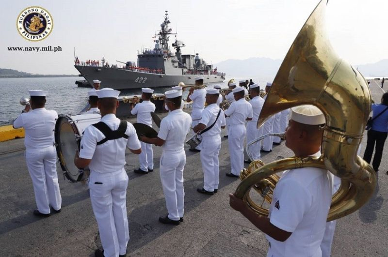 PAMPANGA. One of two vessels of the Royal Thai Navy docked at the Subic Freeport as part of a goodwill visit to the Philippines. (Photo courtesy of Philippine Navy)