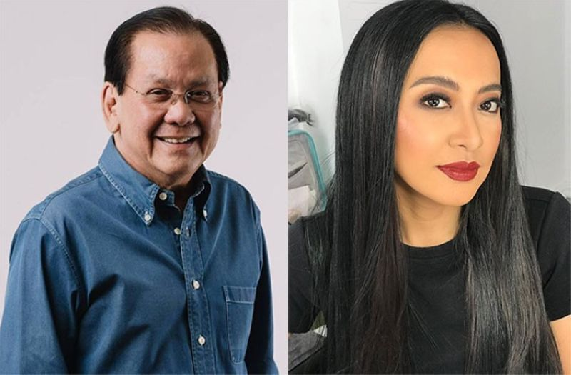 Serge Osmeña and Mocha Uson. (Photos from Facebook pages of Osmeña and Uson)