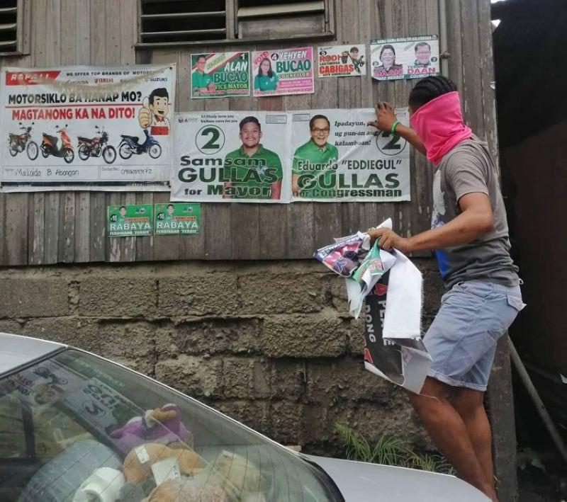 CEBU. Nagsugod na ug panglangkat ang mga sakop ug supporters ni Talisay City Mayor-elect Gerald Anthony