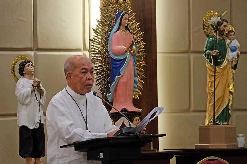 DAVAO. Catholic Bishops' Conference of the Philippines President Romulo Valles. (File photo)