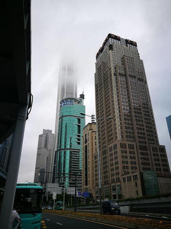 HONG KONG. The 600-meter tall Ping An International Finance Building. (Photo by Jennie P. Arado)
