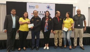 Rotary Club of Bacolod South incoming officers (Carla N. Cañet)