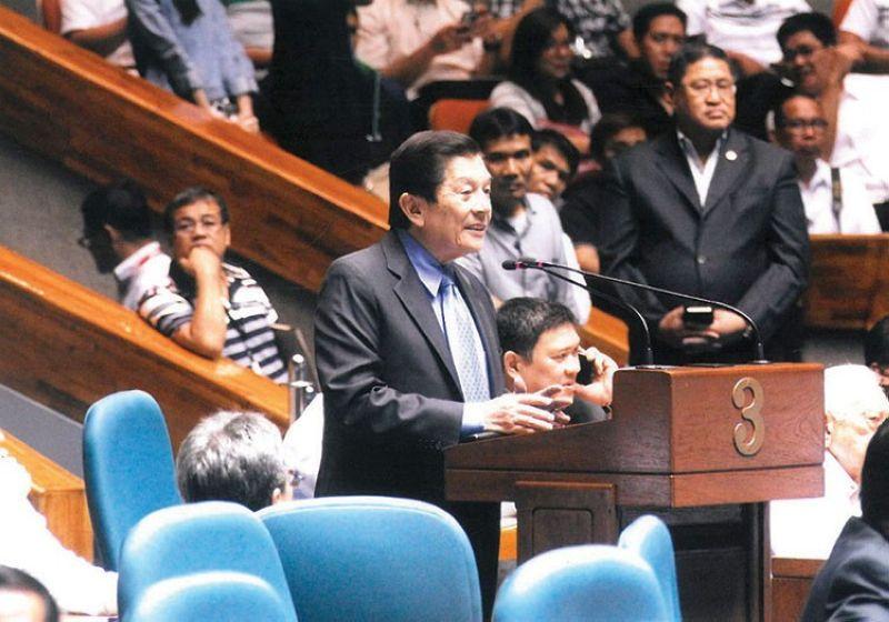 MANILA. Cebu Representative Raul del Mar. (File photo)