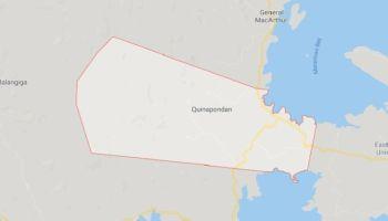 Quinapondan, Eastern Samar. (Google maps)