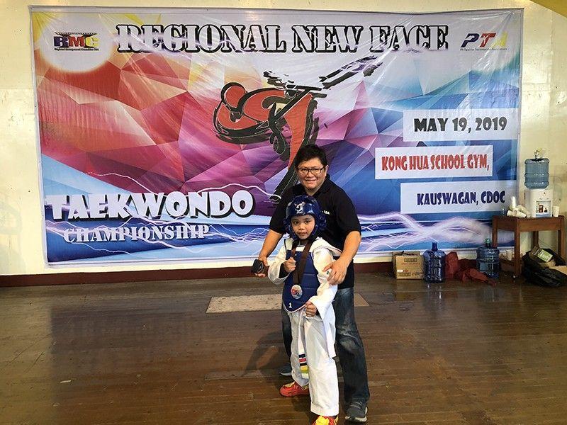 Master Marilou Go, 5th dan blackbelt, event chairman, and H taekwondo central gym instructor. (Hannah Wabe)