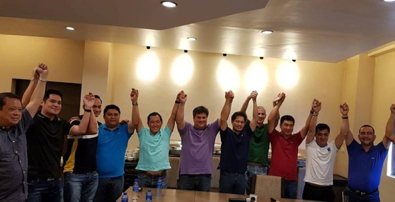 BACOLOD. The Love Negros line up. (Contributed Photo/ SunStar file)