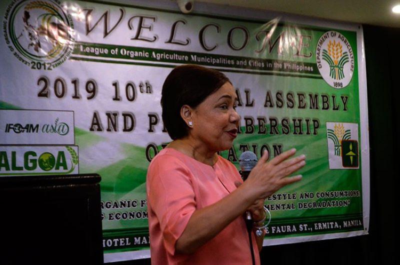 MANILA. Senator Cynthia Villar. (Al Padilla/SunStar File)