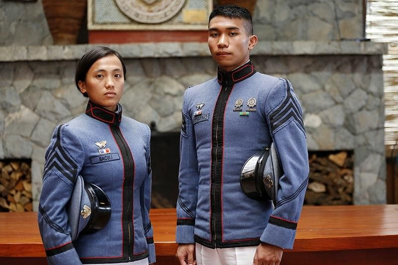 BAGUIO. Cadette First Class Kimberly Joy Saliw–an Baculi and Cadet First Class Nicolas Crisanto Raguine Gusyako are set to receive the Athletic Saber Award in this year's graduation rites of the Philippine Military Academy. (Contributed photo)