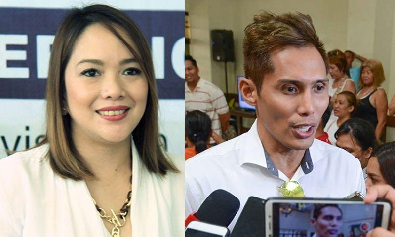 CEBU. Cebu City Councilors-elect Niña Mabatid and Dondon Hontiveros. (SunStar File)