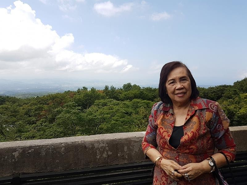 AN EDUCATOR BY HEART. Milagros Espina found it difficult when she first moved to Cebu but has managed to make good and lasting relationships. (Contributed photo)